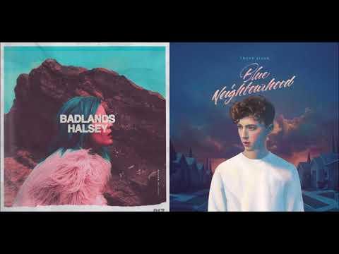 Halsey/Troye Sivan - Castle/Blue Mashup