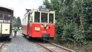 Tranway Touristique De L ' Aisne, Erezee + short Chaleroi tramway view