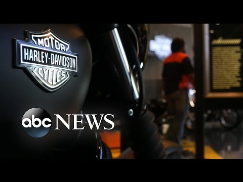 Trump says Harley-Davidson 'will be taxed like never before'