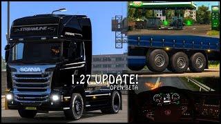 Euro Truck Simulator 2 - 1.27 UPDATE! (Open Beta)