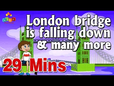 London Bridge Is Falling Down & More || Top 20 Most Popular Nursery Rhymes Collection