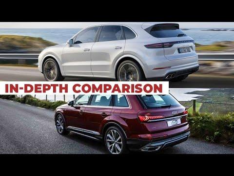 2020 Audi Q7 vs 2020 Porsche Cayenne – In-Depth Comparison Review