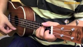 Học đàn Ukulele Bài 4 - Điệu Slow - Đệm hát Giấc mơ Chapi