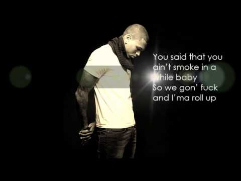 Chris Brown -Wildcat + lyrics