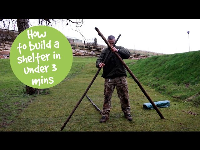 How To Build a Shelter in Under 3 Minutes   Haven