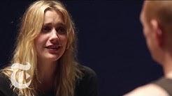 Greta Gerwig and Scott Shepherd in 'The Village Bike'   In Performance   The New York Times