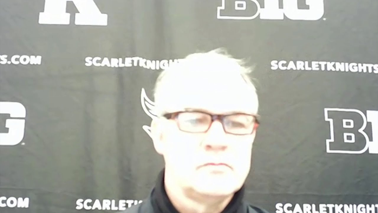 Steve Pikiell talks Indiana postgame -- Rutgers Scarlet Knights Basketball