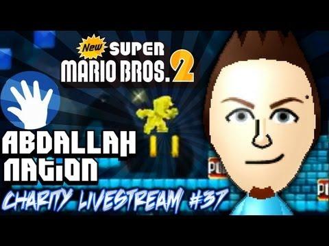 AbdallahNation Weekend Livestreams! #37: New Super Mario Bros 2 Coin Rush Mode!