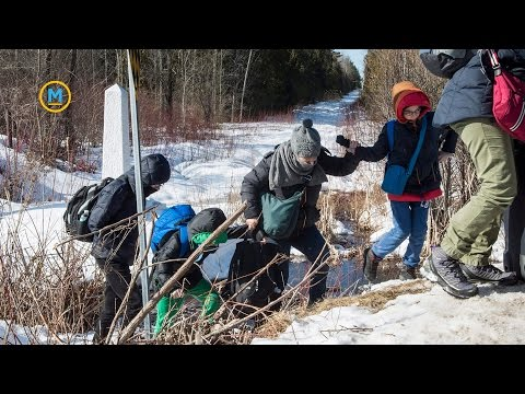What happens to refugees after they cross the Canadian border?   Your Morning