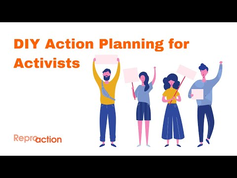 DIY Action Planning for Activists