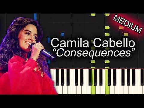 Camila Cabello Consequences Piano Tutorial