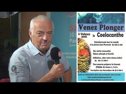 Coelacanthe, club de plongée valentinois