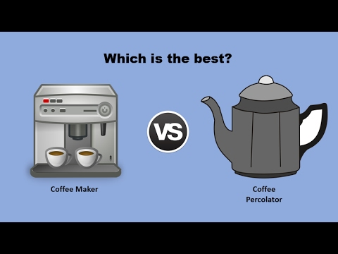Drip Coffee Maker Vs Percolator Which Is The Best