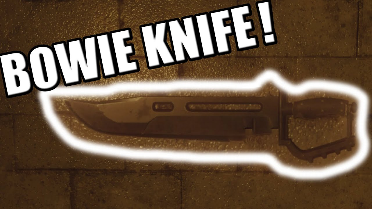 Where to find the 'Bowie Knife' (Black Ops 3: Zombies) - YouTube