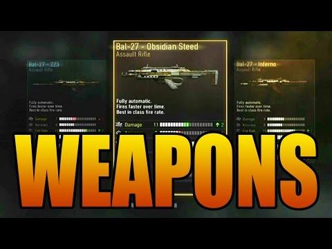 Best assault rifle in advanced warfare gun stats breakdown grcom