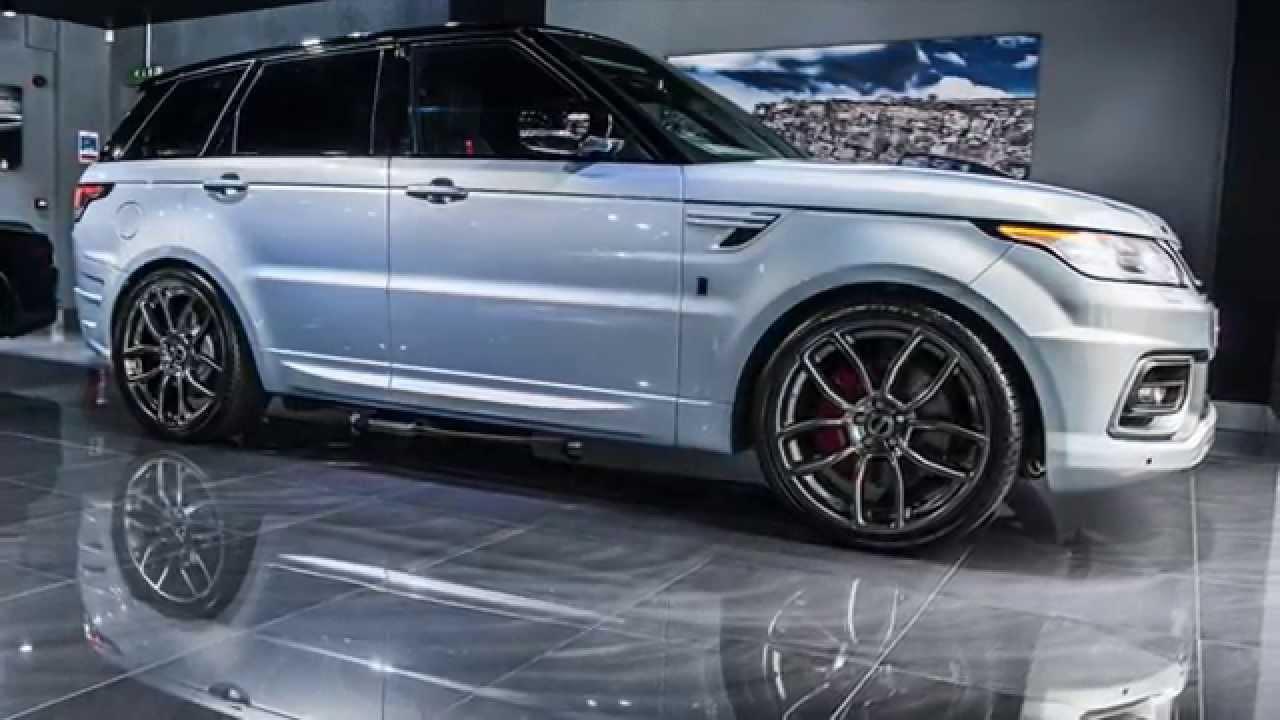 Range Rover Sport >> Range Rover Sport 400LE by Kahn - YouTube