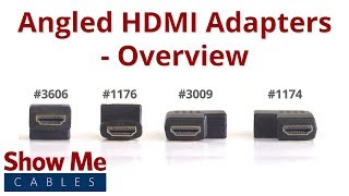Angled HDMI Adapters - Overview
