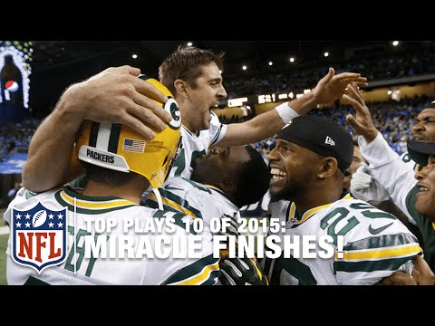 Top 10 Miracle Finishes of 2015   NFL