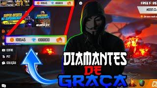 🔥 CORRE !!! NOVA MANEIRA DE GANHAR DIAMANTES DE GRAÇA NO FREE FIRE ! DEU CERTO !!!
