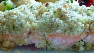 Salmon Parmesan & Parsley Crust How To Make Recipe