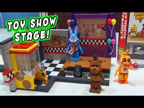 Five Nights at Freddy's Mcfarlane Toys Series 5 TOY SHOW STAGE Construction PLAYSET Preview thumbnail