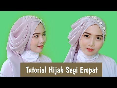 Video Cara Memakai Hijab Segitiga Untuk Sekolah
