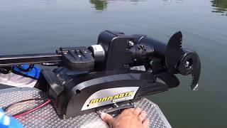 Электромотор Minn Kota Terrova. Первый запуск | Рыбалка с FishingSib 2018