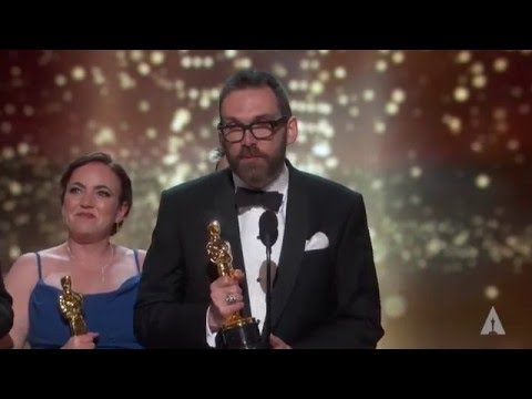 """""""Ex Machina"""" winning the Oscar® for Visual Effects"""