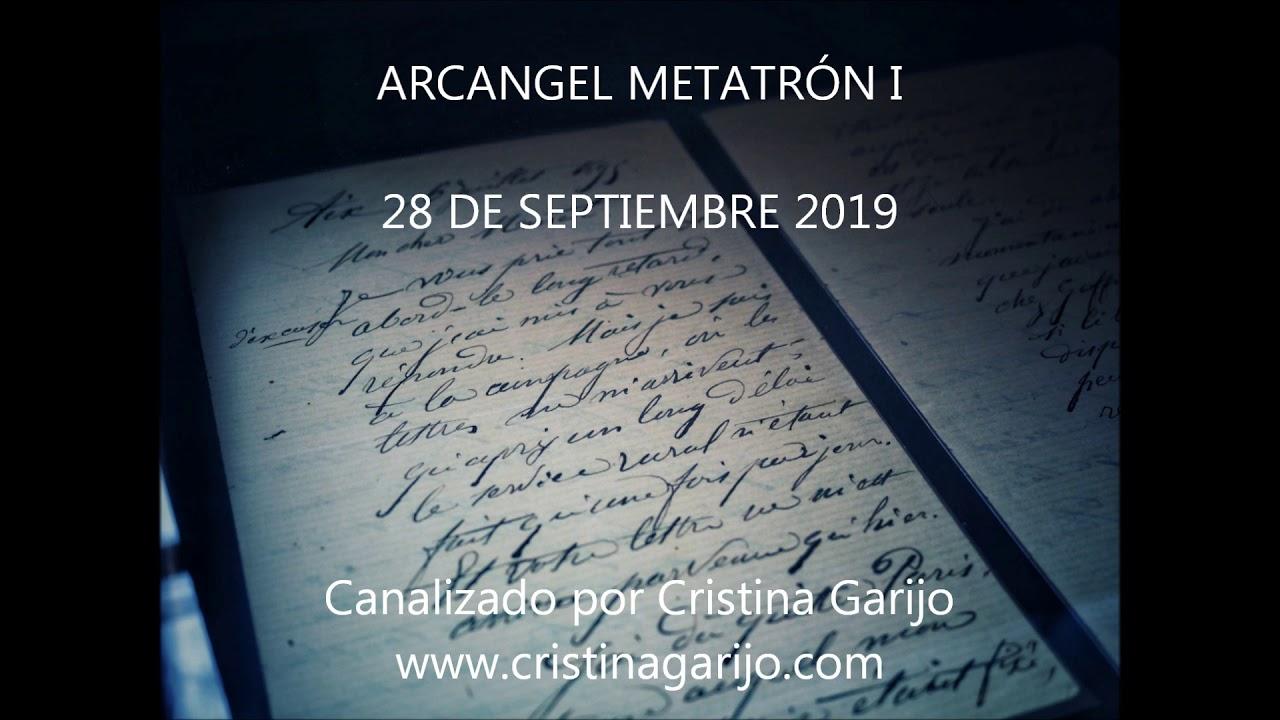 CANALIZACIÓN ARCANGEL METATRÓN I