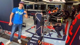 DENTRO I PADDOCK DI FORMULA UNO: Gran Premio di Monza 2019