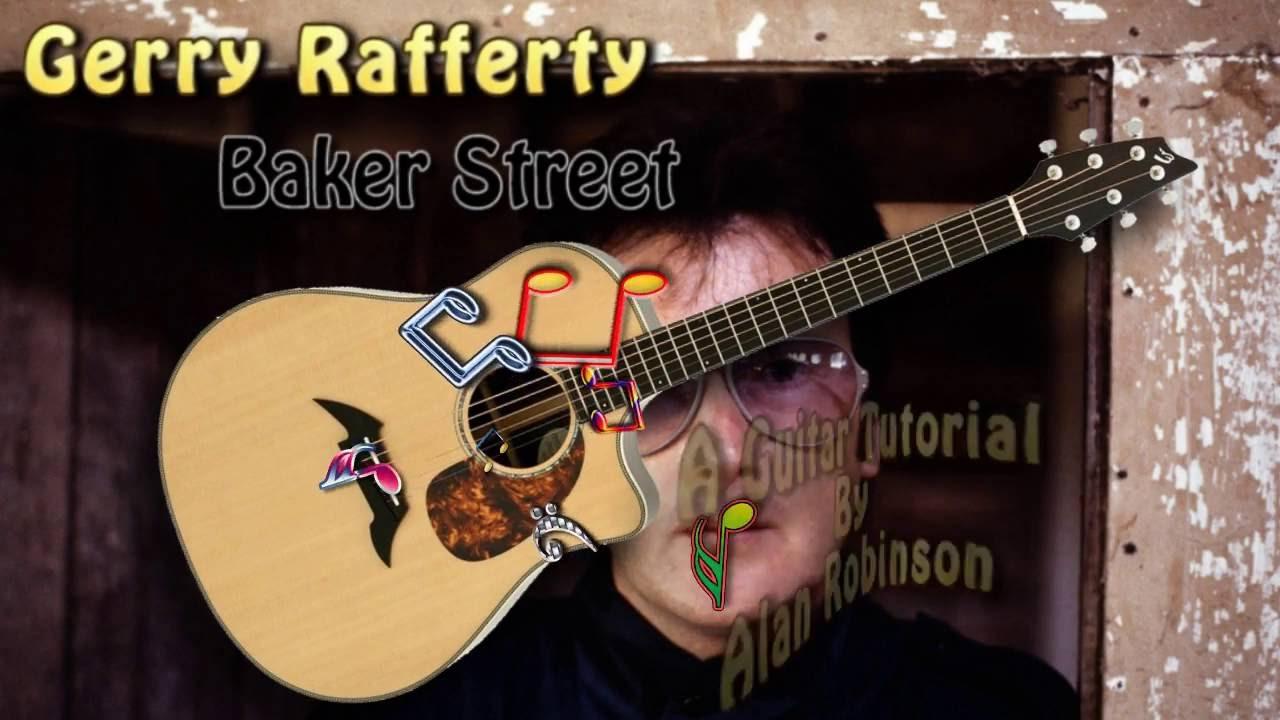 Baker Street Gerry Rafferty Acoustic Rhythm Guitar Lesson Youtube
