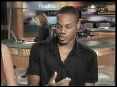 Garikayi Mutambirwa & Nicki Aycox Jeepers Creepers 2 interview on CNN