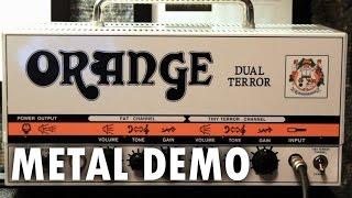 Orange Dual Terror - Metal Demo and Review