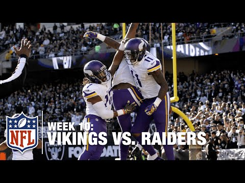 Patterson Scoops & Scores 93-Yard Kickoff Return TD! | Vikings vs. Raiders | NFL