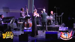 Madeleine Albright Plays Drums At Chris Botti Concert