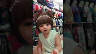 FUNNY BABY USING PICT APP 2 march 17