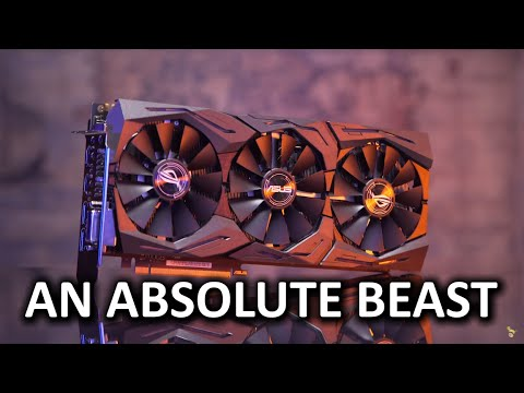 ASUS GTX 1080 Strix Review -