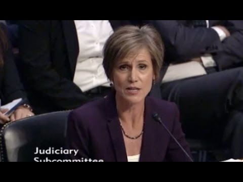 Yates And Clapper On Flynn's Russian Ties - Full Q And A Before Senate Judiciary Committee
