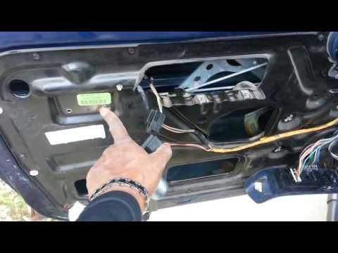 Door lock actuator replacement doovi for 05 nissan murano door lock problems
