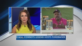Cowboys Legend hosts fundraiser