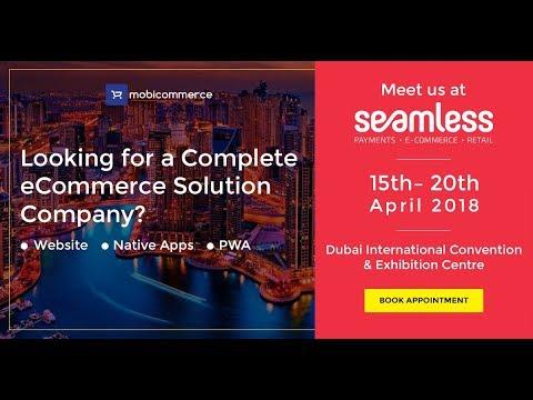 Meet Mobicommerce at Seamless Expo, Dubai