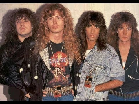 Top 10 80's Megadeth - YouTube