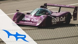 1991 Jaguar XJR-14 at Spa Classic 2015 (Screaming Sound)