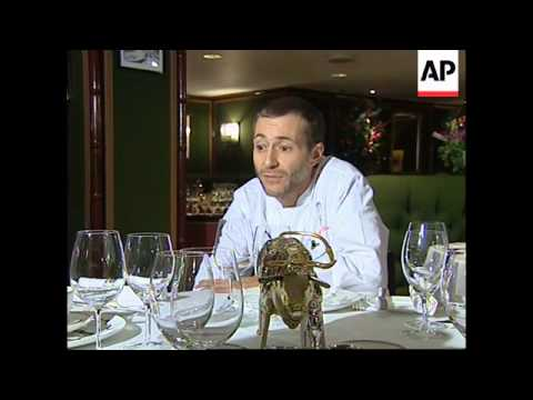 UK: CHEF MICHEL ROUX BANS FRENCH BEEF IN RESTAURANT