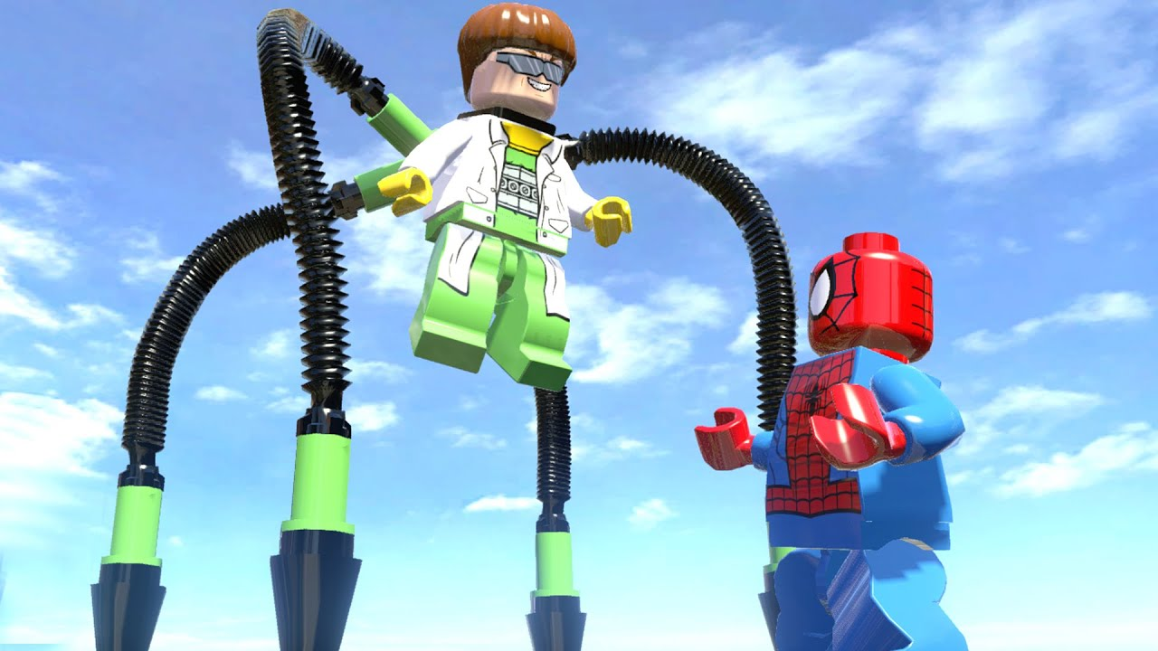 DOCTOR OCTOPUS VS SPIDERMAN - (AMAZING BATTLE FIGHT) LEGO ...