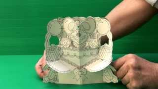 Amazing 3D Pop Up Cards - Bunny (Uncompleted)
