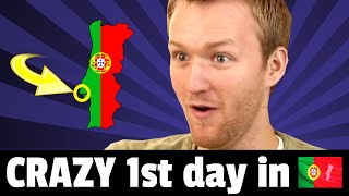 Baixar 🔴 My CRAZY 1st day in Portugal - How I was CURSED