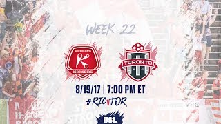 Richmond Kickers vs Toronto FC USL full match