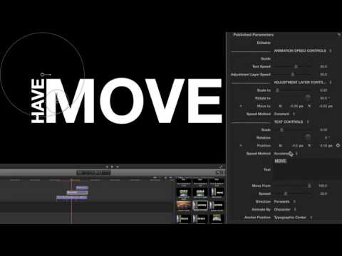 ProText Kinetic 2 Lesson - Typography Creation Tools - Pixel Film Studios - FCPX Tutorials