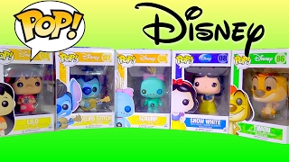 Funko Pop Disney Collection: Snow White, Scrump, Elvis Stitch, Lilo, Timon